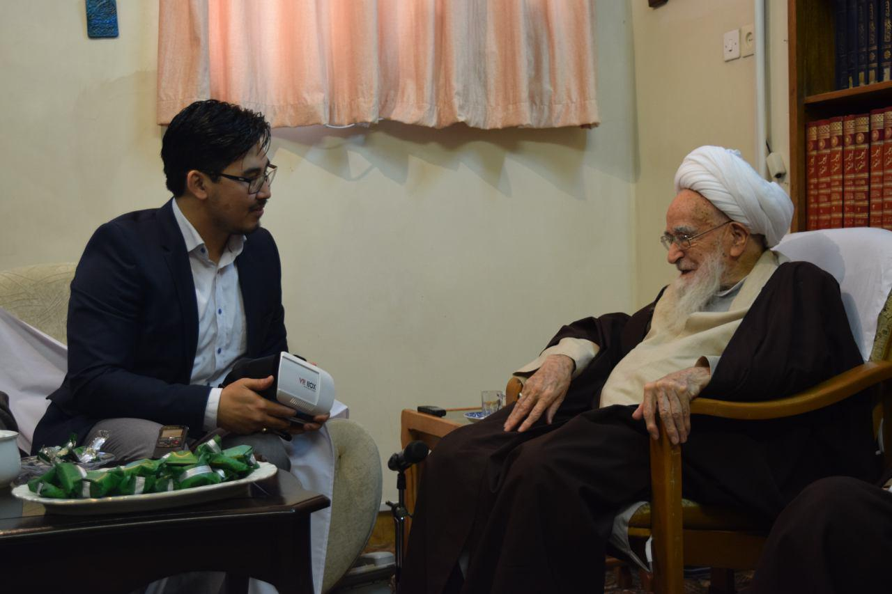 Meeting with Grand Ayatollah Lotfollah Safi Gulpaygani
