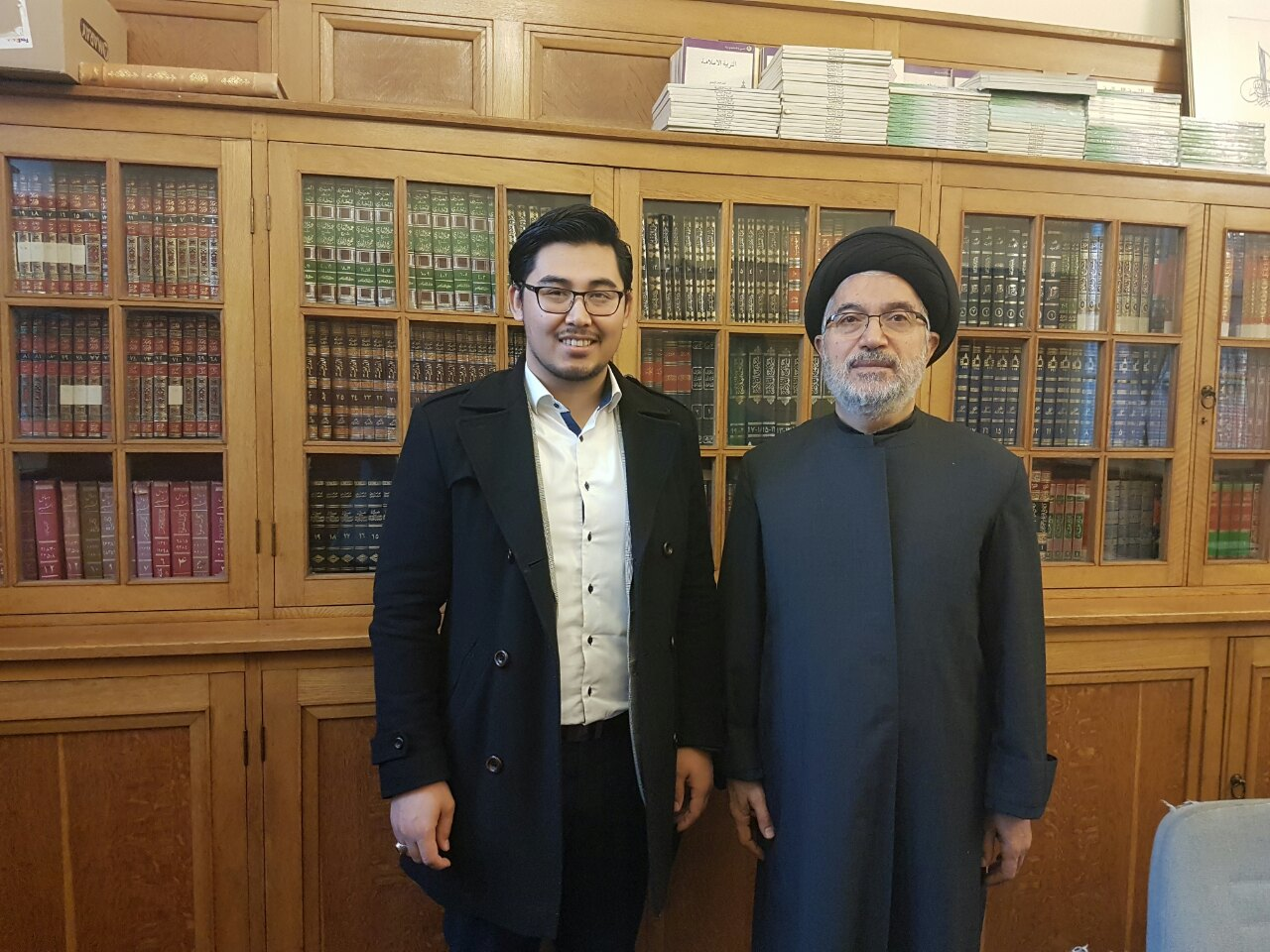 Cooperation with Ayatollah al-Milani