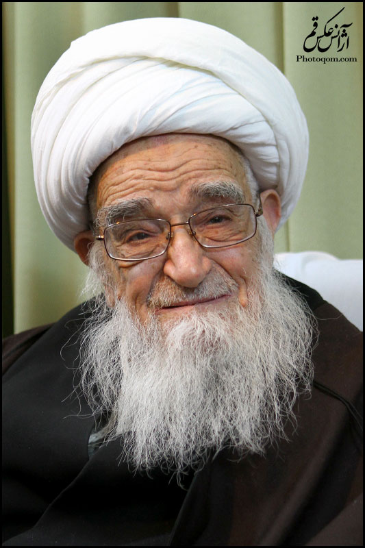 Support from Ayatollah Safi Gulpaygani